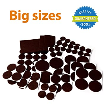 X-PROTECTOR Premium XXL SIZES Pack Furniture Pads! BIG SIZES of