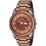 SWISSTONE G365-BRW-ACH Metal Chain Wrist Watch for Men