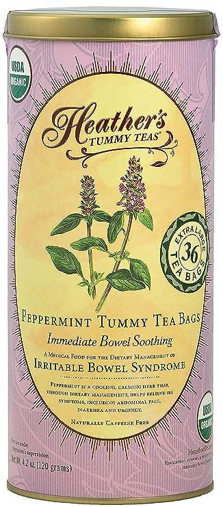 Amazon.com: Heathers Tummy Teas Organic Peppermint Tea for ...