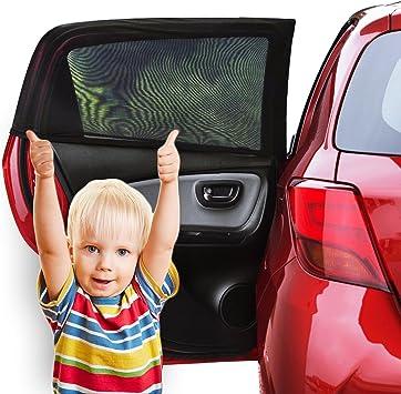 2er Set UV-Sonnenschutz fürs Auto Schutz für Kinder und Babys vor Sonne PKW