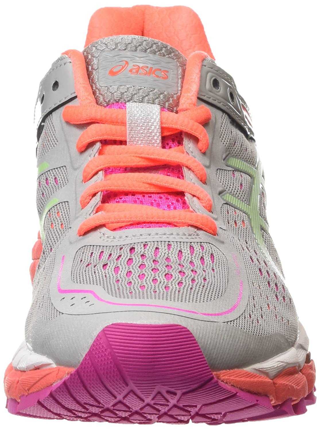 Amazon.com | Asics Gel Kayano 22 Running Shoes grey/colorful, EU Shoe Size:36 EU | Shoes