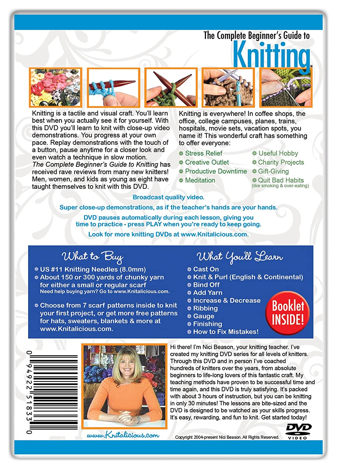 Amazon the complete beginners guide to knitting nici beason amazon the complete beginners guide to knitting nici beason movies tv bankloansurffo Images