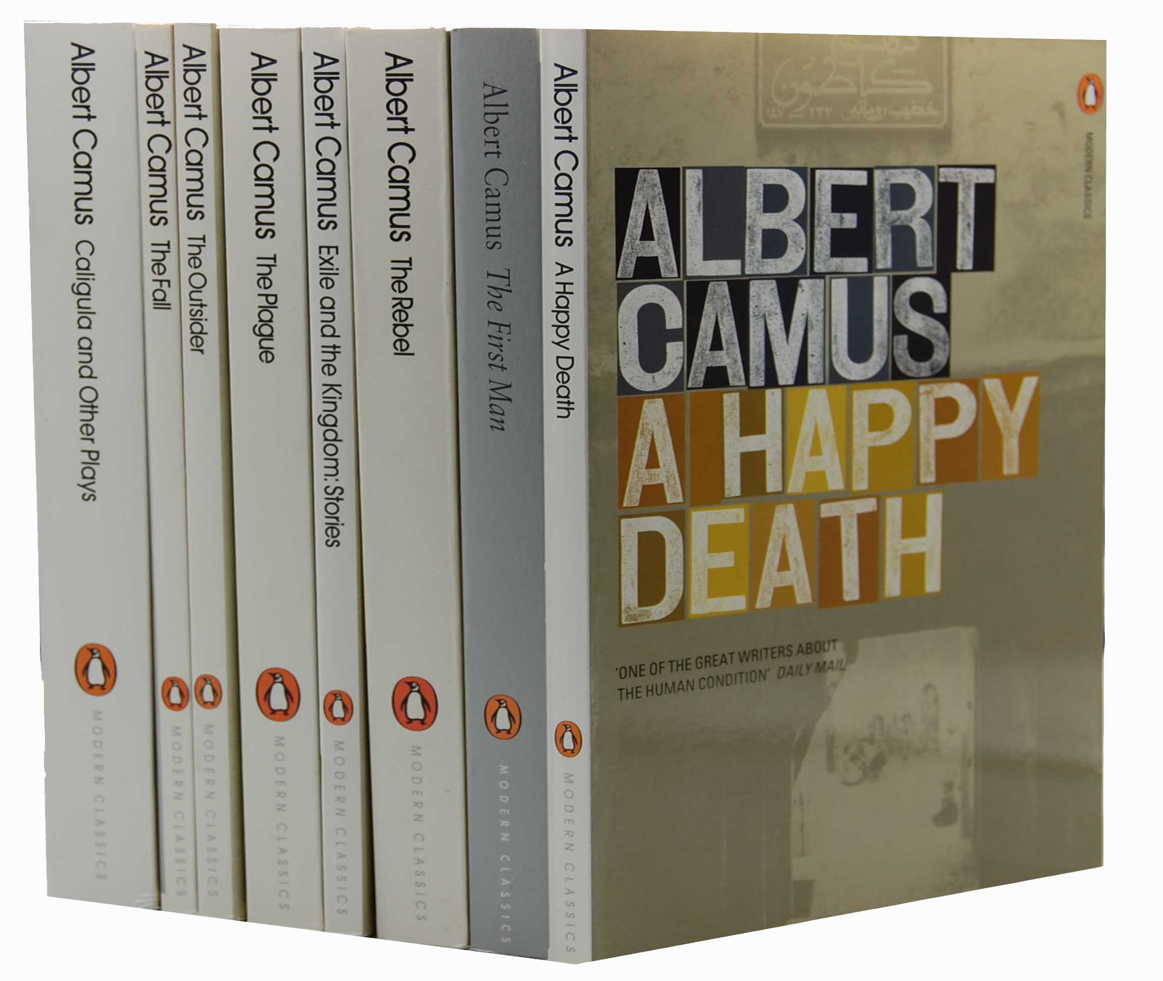 albert camus books collection set the first man the rebel albert camus 8 books collection set the first man the rebel exile and the kingdom stories the plague the outsider the fall a happy death