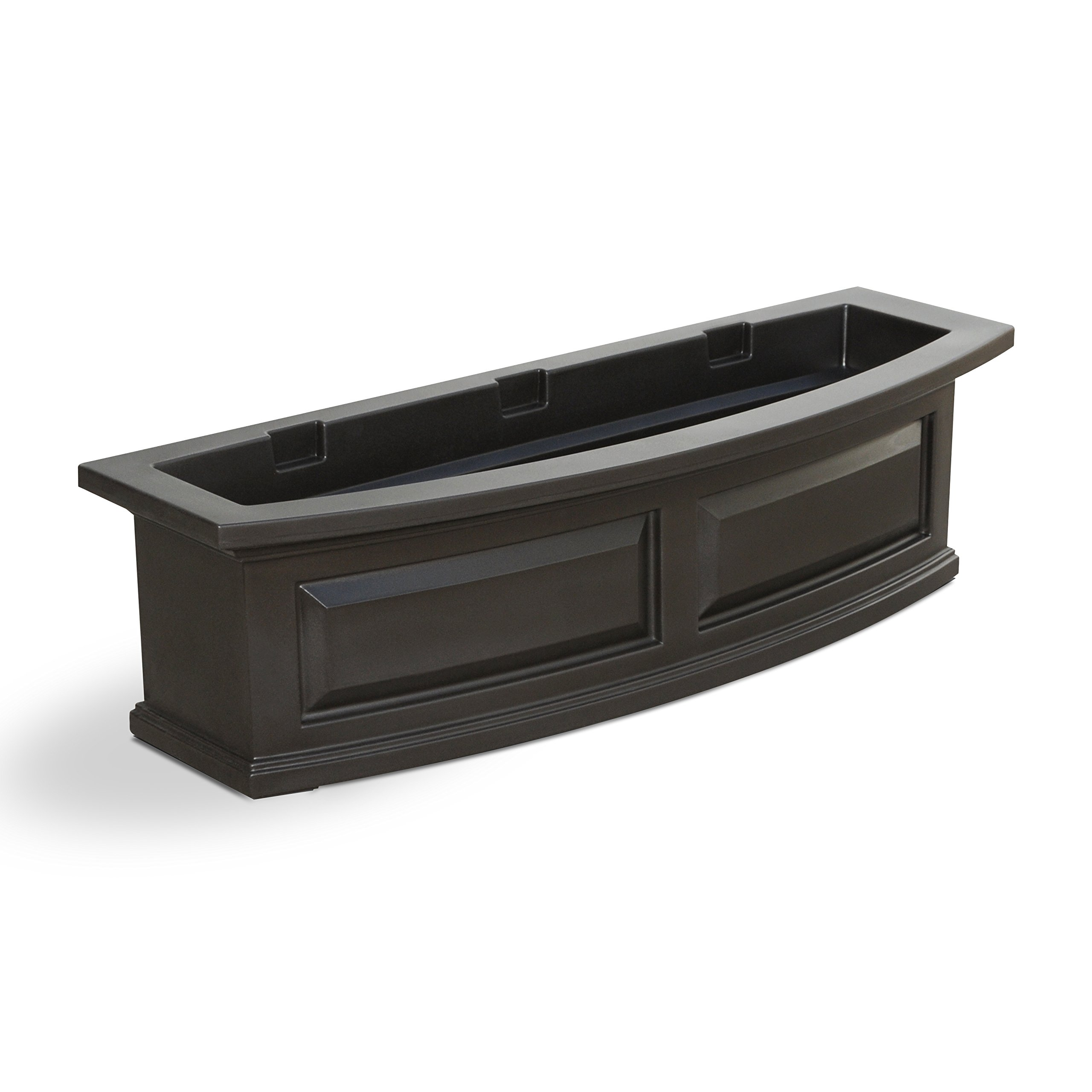 Mayne 4830-ES Polyethylene Window Box, Espresso by Mayne
