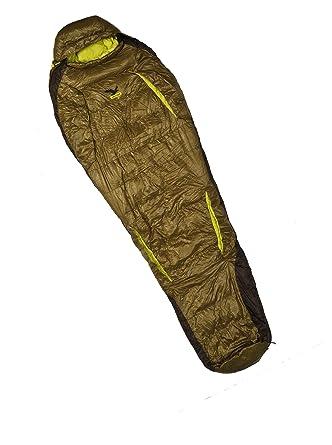 Salewa Phantom 3d Flex 1 Xl Sb - Saco de dormir de plumón verde wooden green Talla:LEFT: Amazon.es: Deportes y aire libre