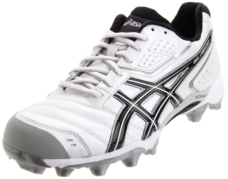 ASICS Men's GEL-Provost Low Lacrosse Shoes B004DCBCX0 9 D(M) US|White/Black/Silver