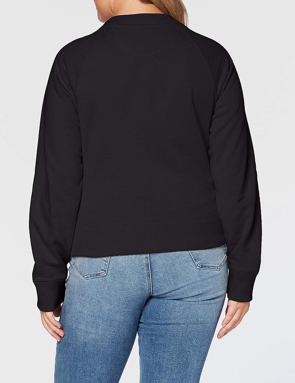 Schott Damen Pullover Schwarz (Black 90)