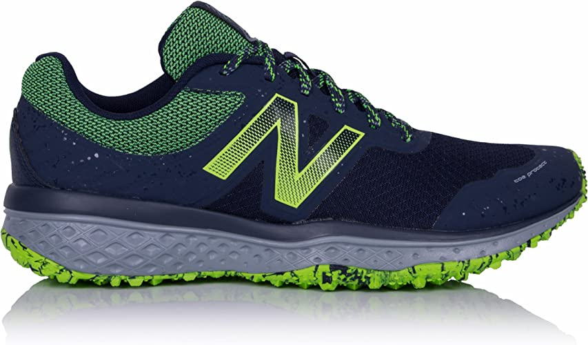 taquigrafía Permuta picar  New Balance MT620v2 Trail Running Shoes (2E Width) - 11.5 Black: Amazon.co. uk: Shoes & Bags
