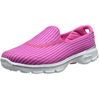 Skechers 斯凯奇 Performance 女士 Go Walk 3系列 健步鞋 豆豆鞋