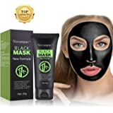 Yovanpur Blackhead Peel Off Mask, Face Mask, Blackhead Remover Mask Black Mask Deep Cleaing Facial Mask for Face Nose 60g (Black Mask)