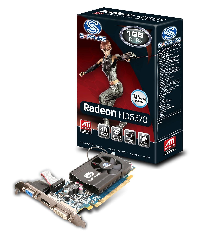 Sapphire Radeon HD 5570 - 1 GB DDR3 DP/DVI-I/VGA Tarjeta ...