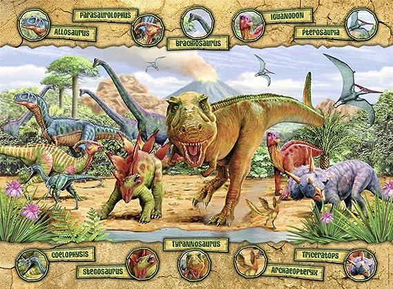 Nathan 86836 Puzzle Dinosaur Species