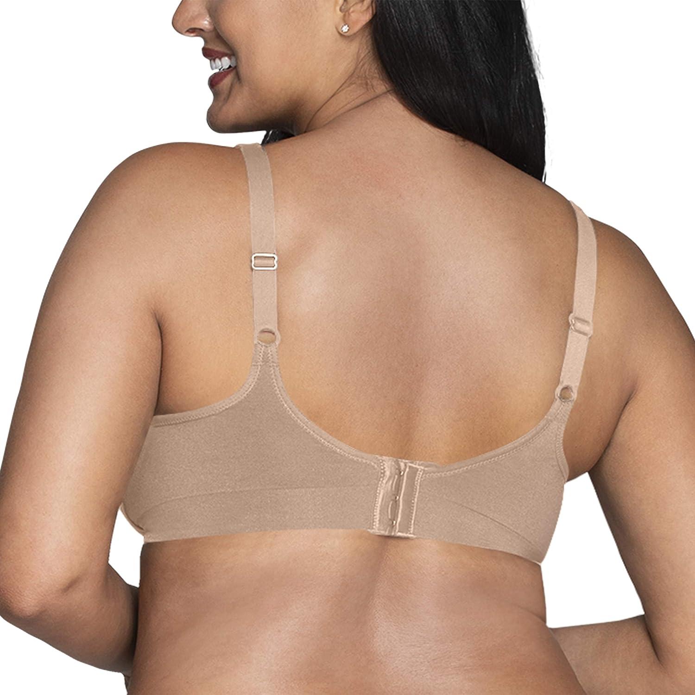 Vanity Fair Womens Beyond Comfort Full Figure Wirefree Bra 71282