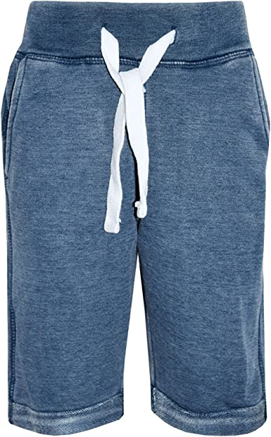 Kids Boys Shorts Fleece Blue Chino Short Knee Length Half Pant New Age 3-13 Year