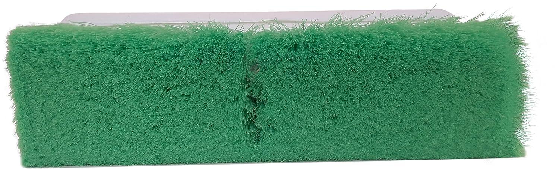 2-1//2 Bristle Trim Green 9-1//2 Overall Length x 3 Width 2-1//2 Bristle Trim Flagged Nylex Bristles Carlisle 4005075 Plastic Block Flo-Thru Brush 9-1//2 Overall Length x 3 Width