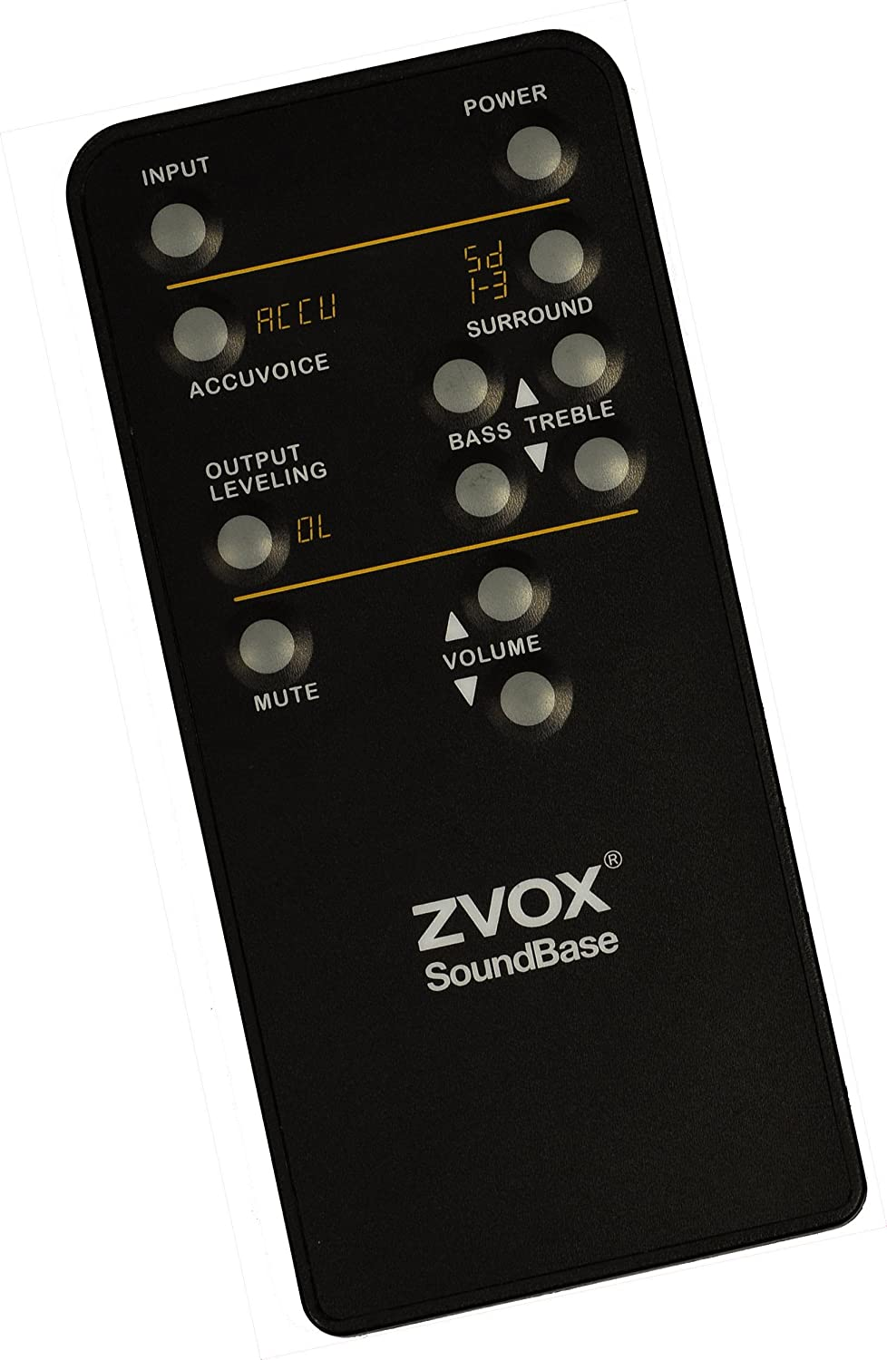 ZVOX SoundBase 570 30 Sound Bar with Built-in Subwoofer AccuVoice Bluetooth