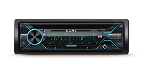 Sony MEXN5200BT - Radio CD (USB, Bluetooth, NFC, iluminación Variable, Micro