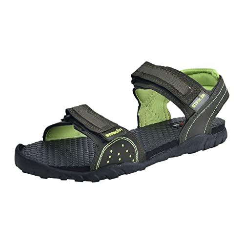 86483fae0a69 Striker Grey Olive Men s Sandals Size 7  Buy Online at Low Prices in ...