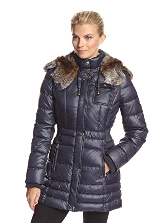 1a1a642ebd0 Image Unavailable. Image not available for. Color  Laundry by Design  Women s Puffer Coat ...
