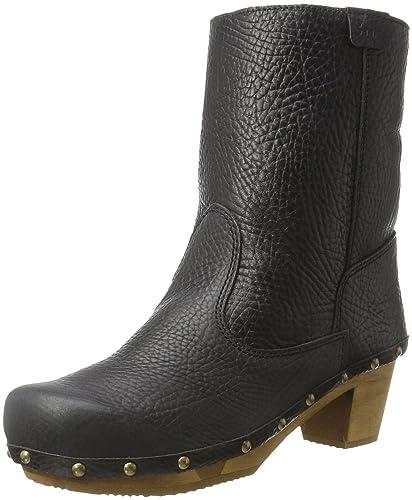Sanita Pia Block Flex Boot, Botines para Mujer, Negro-Schwarz (Black 2), 40 EU: Amazon.es: Zapatos y complementos