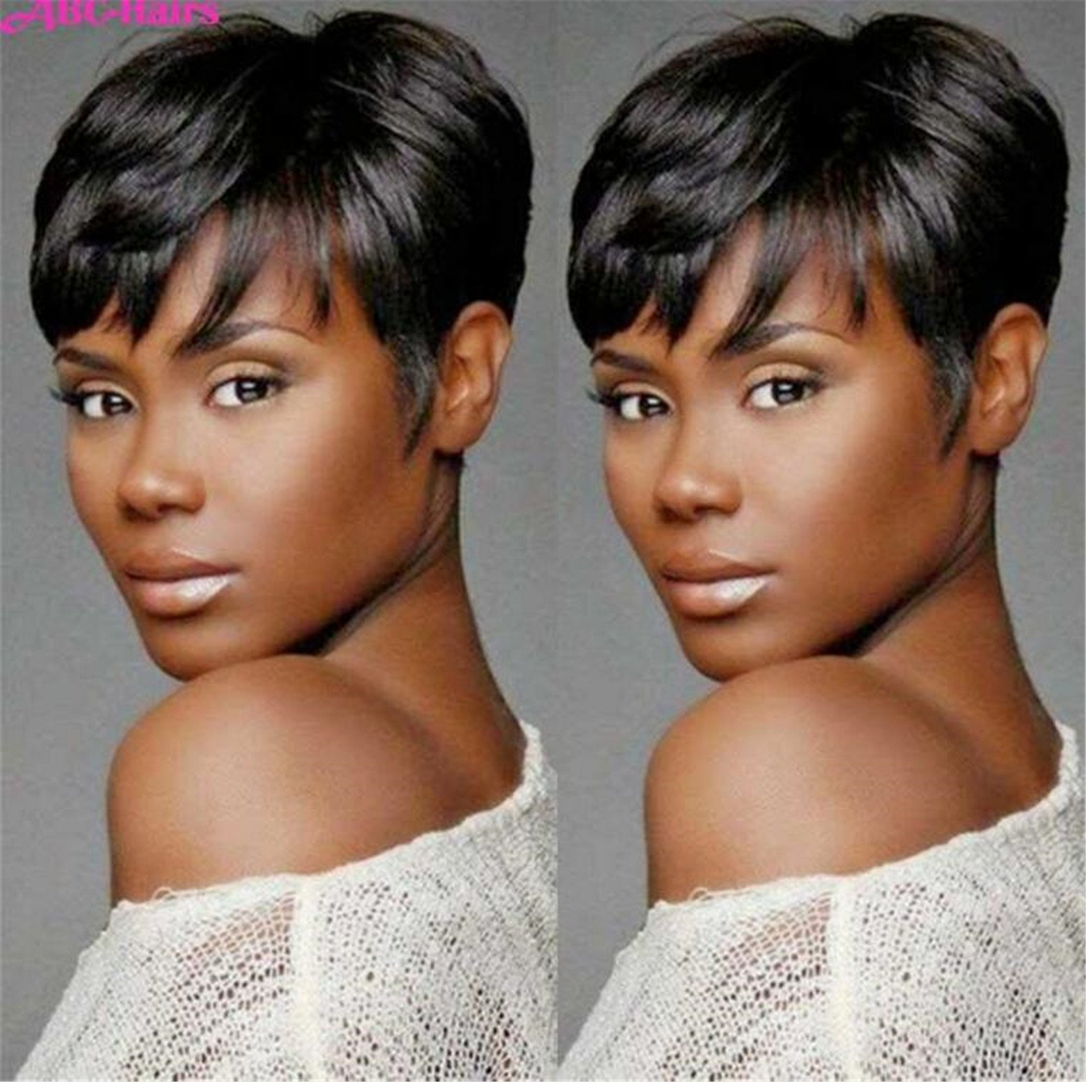 Amazon Cheap Hair Wig Hot Sale Short Pixie Cut Wigs Short Wigs