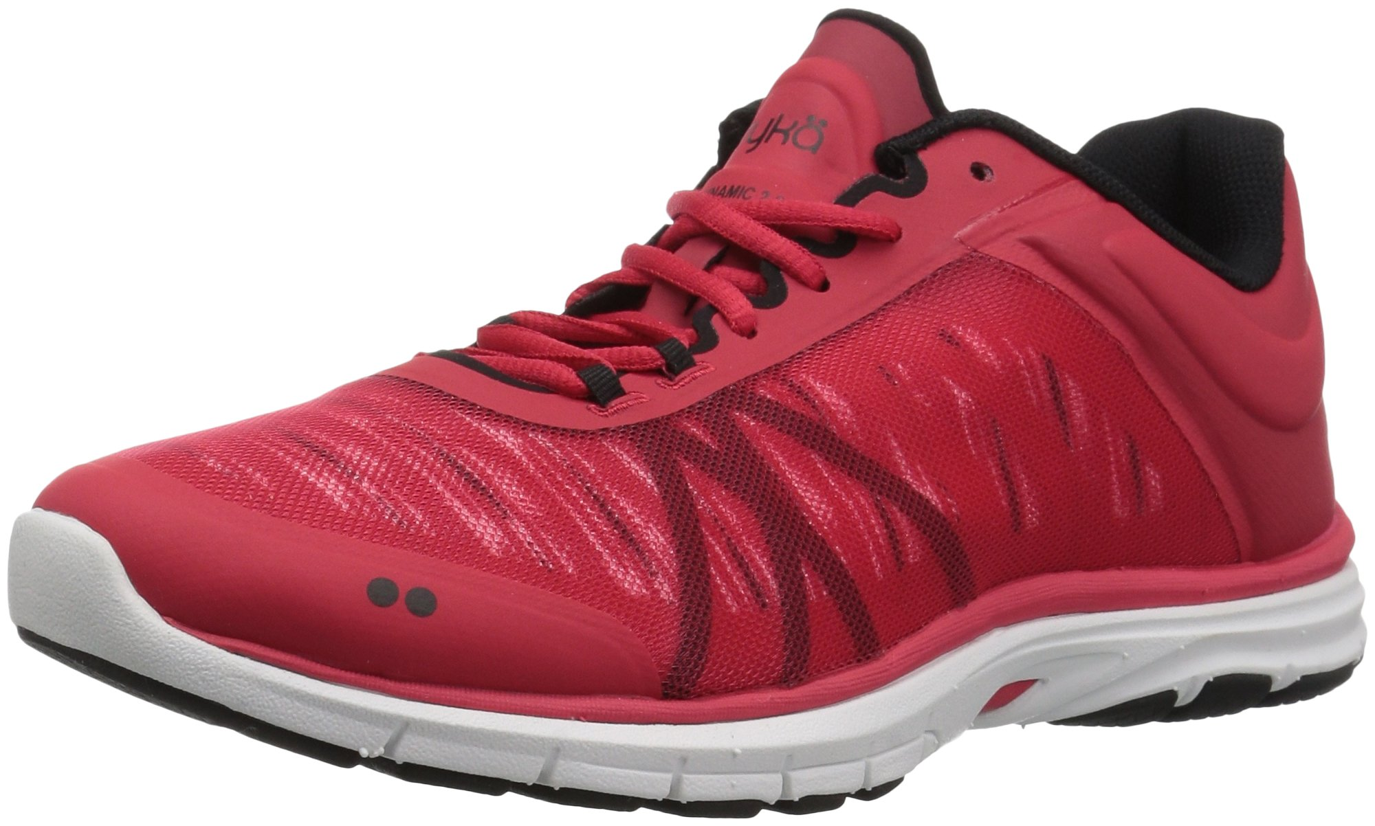 Ryka Women's Dynamic 2.5 Cross Trainer, red/Black, 11 M US by Ryka