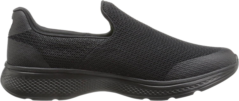 Skechers 54155, Herren Sneakers Schwarz , 45 EU