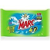 St Marc Lingettes Multi-usages 4 en 1 40 Lingettes - Lot de 6
