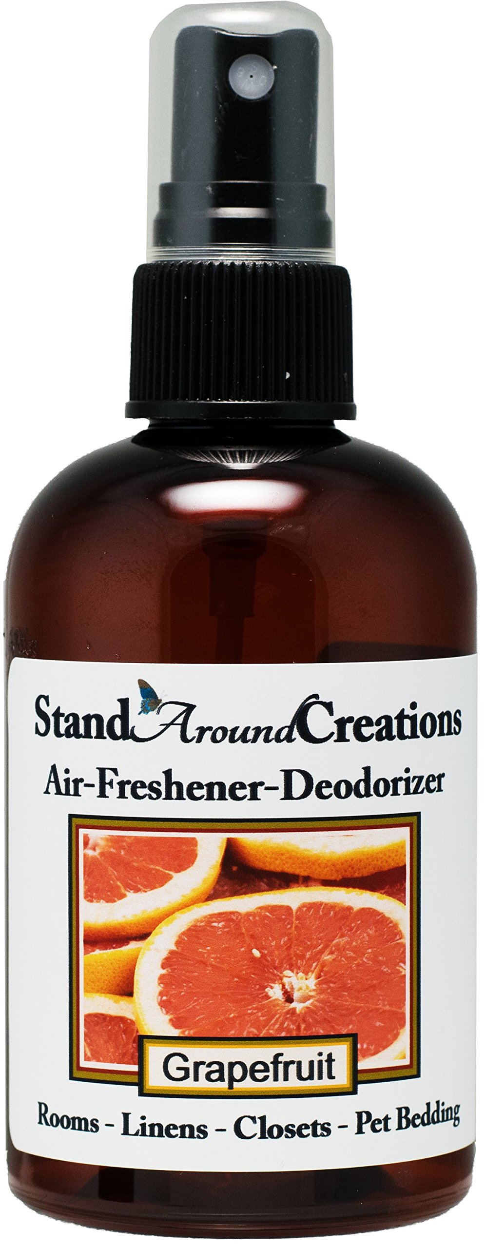 Concentrated Spray For Room / Linen / Room Deodorizer / Air Freshener - 4 fl oz - Grapefruit: A true-to-life blend of ripe, tangy grapefruit a exotic fruit that is citrusy and sweet.