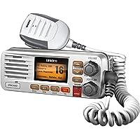 Uniden UM380 Class D Full - Feature Fixed Mount VHF Marine Radio, White