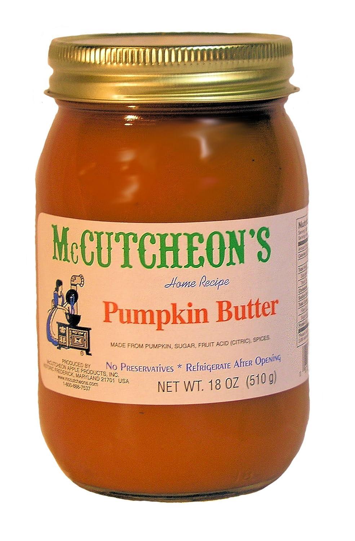 MCCUTCHEON Pumpkin Butter, 18 OZ