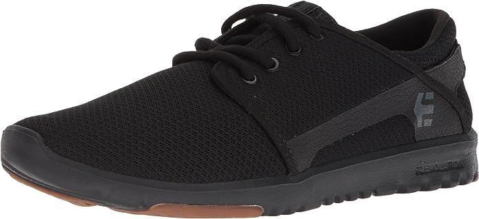 Etnies Scout Sneakers Herren Schwarz (Black/Gum)