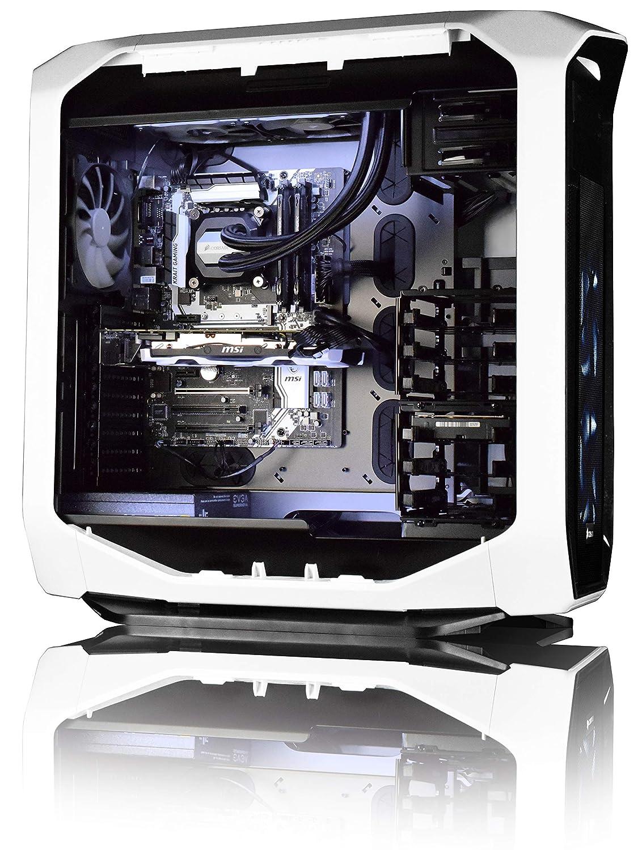 VIBOX Purity 6 Gaming PC Ordenador de sobremesa con Cupón de Juego, Win 10, 27