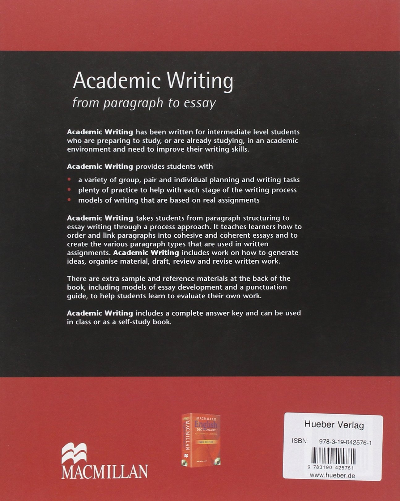 academic writing from paragraph to essay co uk dorothy e academic writing from paragraph to essay co uk dorothy e zemach lisa rumisek 9783190425761 books