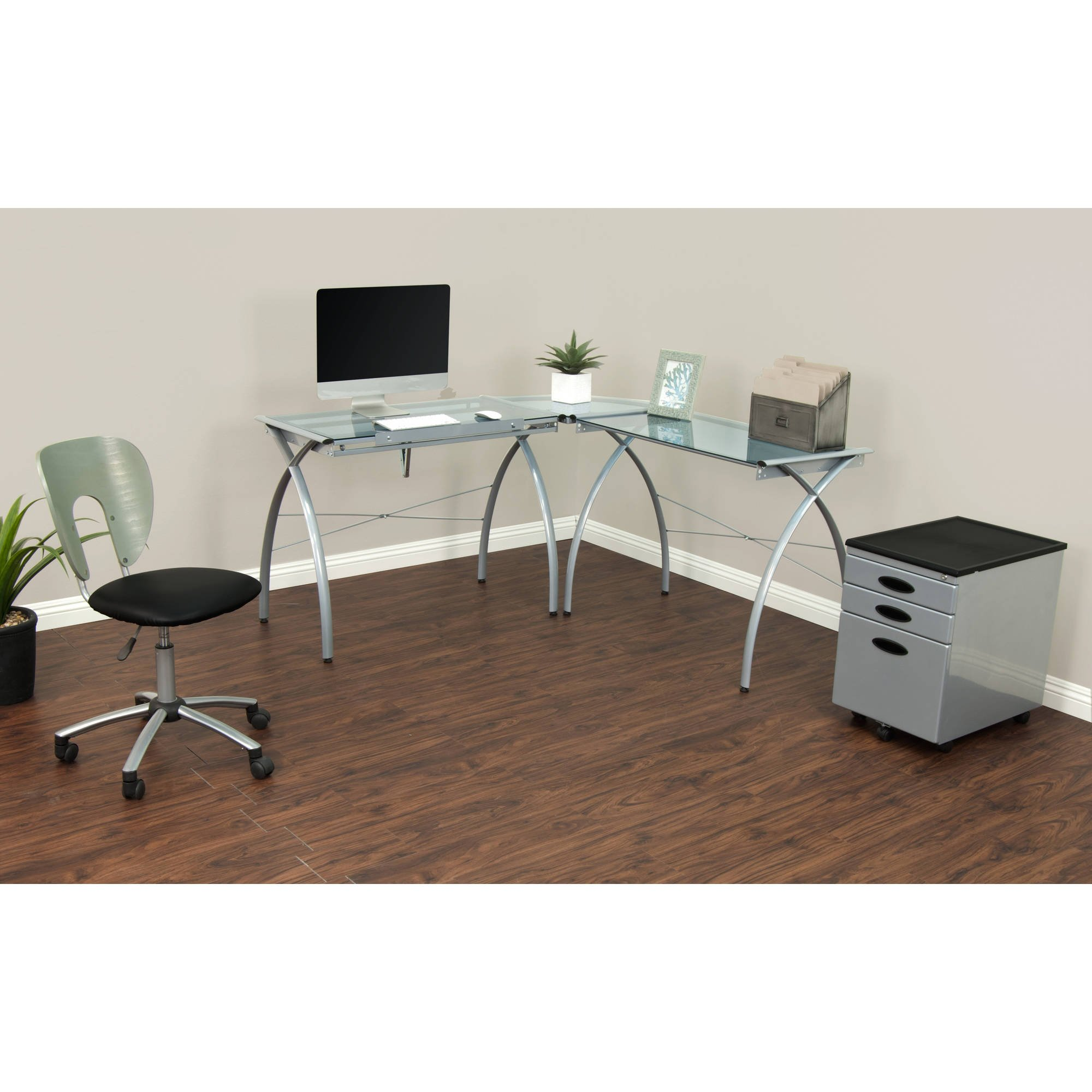 Corner Desk Drafting Table, L Shaped, Workstation, Adjustable Split Top, Functional, Suitable for Home Office, Art Student, Work and Craft Furniture + Expert Guide by Care 4 Home LLC (Image #5)