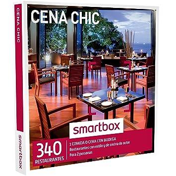 SMARTBOX - Caja Regalo - CENA CHIC - 340 restaurantes con estilo y cocina de autor en España, Andorra y Portugal: Amazon.es: Deportes y aire libre