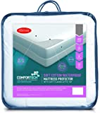 Tontine T6218 Comfortech Soft Cotton Comfortech Soft Cotton Mattress Protector, Single Bed