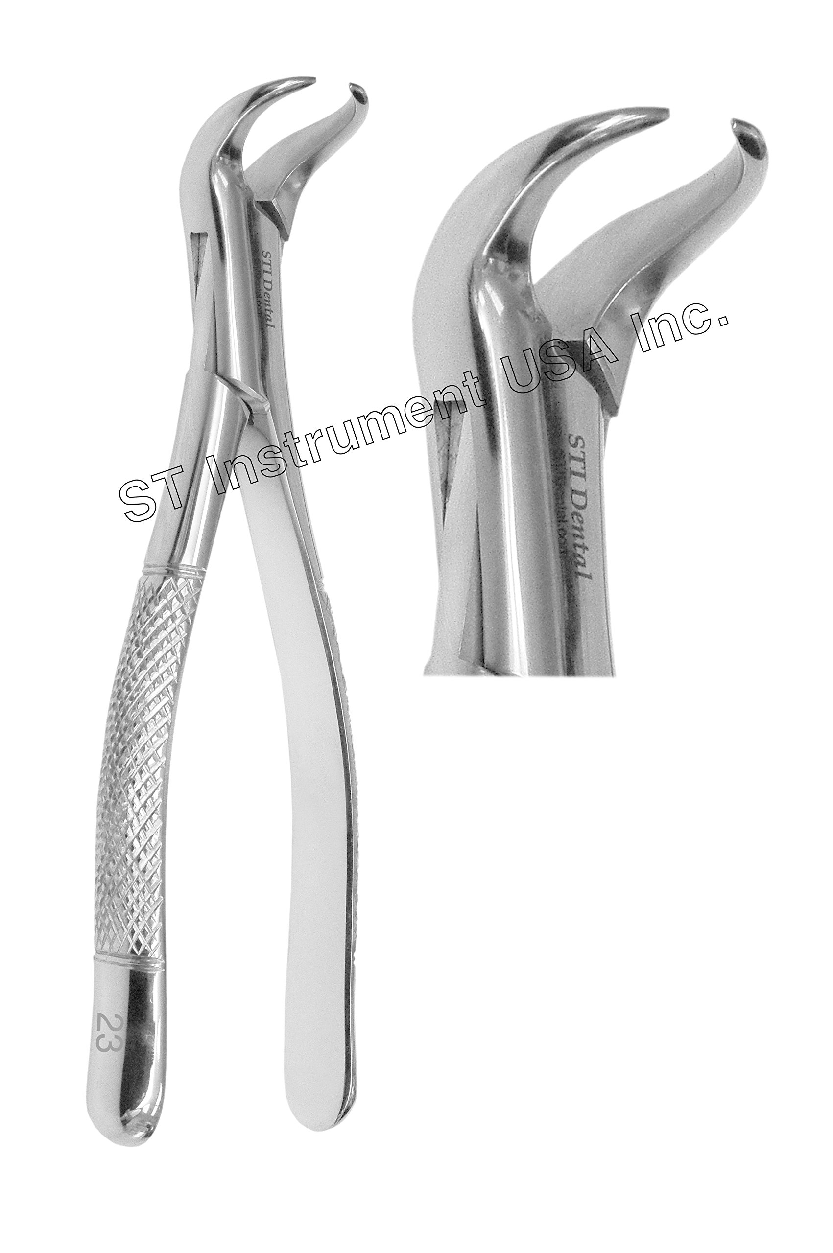 Dental Tooth Extracting Forceps 23 (Cow Horn) Code: C-0264