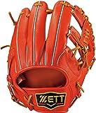 ZETT(ゼット) 野球 硬式 グラブ (グローブ) プロステイタス セカンド ショート 右投用 BPROG66