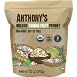 Anthony's Organic Baobab Fruit Powder, 12 oz, Gluten Free, Non GMO