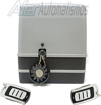 Kit motor para puerta de garaje o cancela corredera VDS SIMPLY 600 Kg – 230 v + 2 mandos Rolling code 4 canales 433 Mhz.: Amazon.es: Bricolaje y herramientas