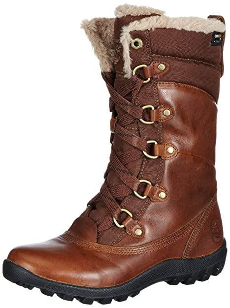 Timberland Mount Hope Fabric and Leather Waterproof, Botas para Mujer: Amazon.es: Zapatos y complementos