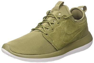 chaussures de sport 886ff 174ca Nike Roshe Two Br, Les Formateurs Homme, Vert Trooper/White ...