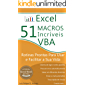 Excel - 51 Macros incríveis: Rotinas Prontas Para Usar e Facilitar a Sua Vida