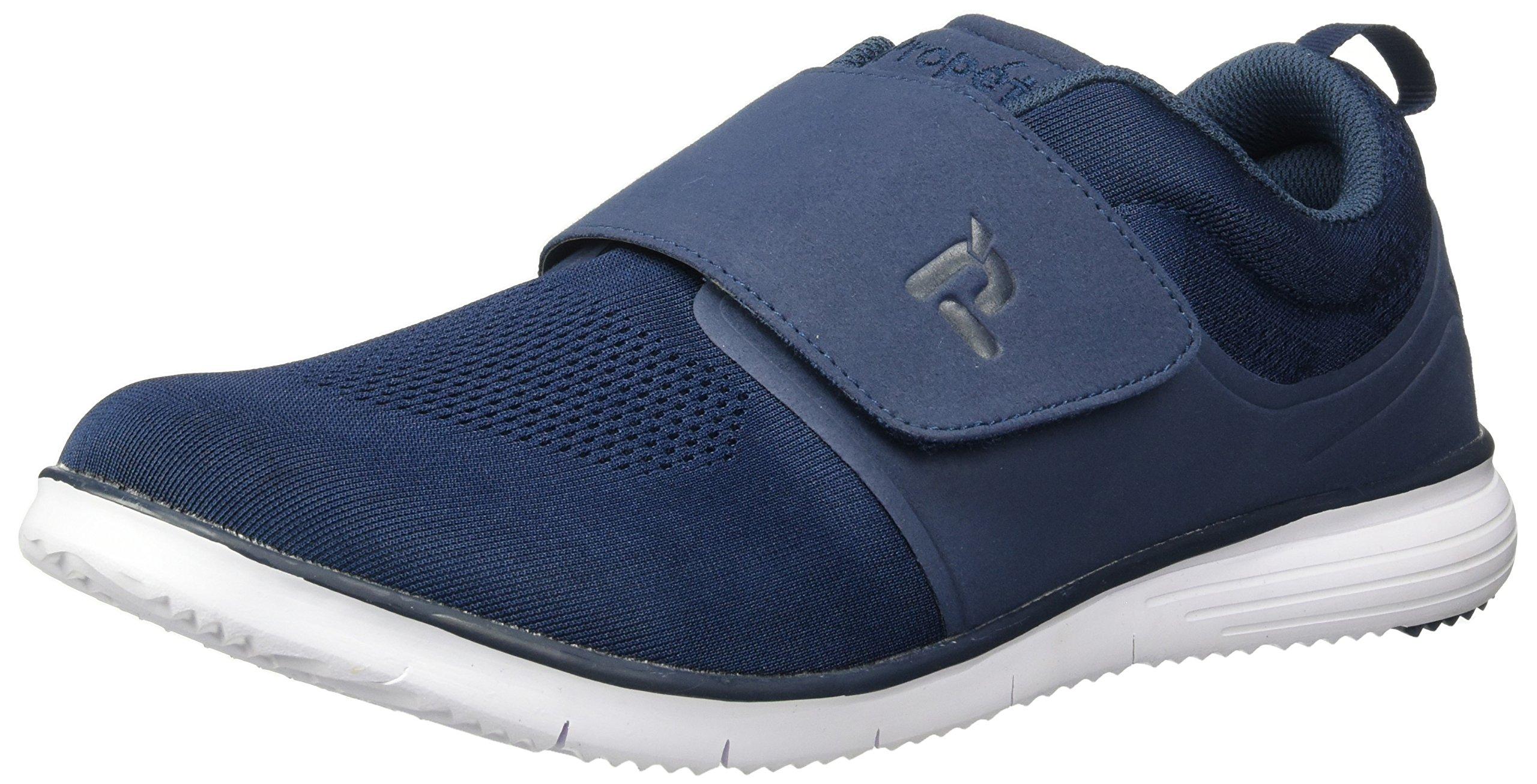 Propet Men's TravelFit Strap Walking Shoe, Navy, 14 5E US