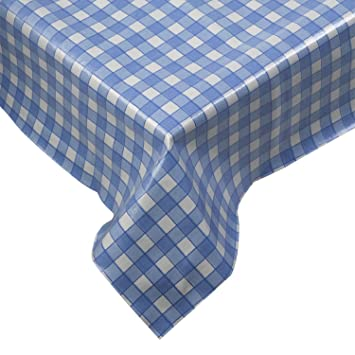 Bon 100% Cotton Gingham Check Tablecloth Dining Room Or Kitchen Table Linen  52u0026quot; X 70u0026quot