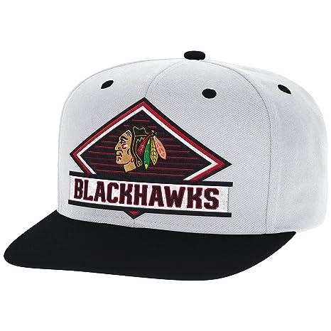 8e5d14daf64 ... discount code for chicago blackhawks reebok two tone flat brim  adjustable snapback hat 4a112 05743