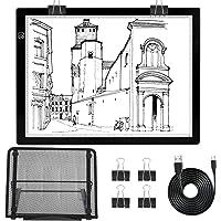 Diamond Painting Light Pad kit with Stand Tracing Light Board Drawing Light Box Light Table for Weeding Vinyl Stepless…