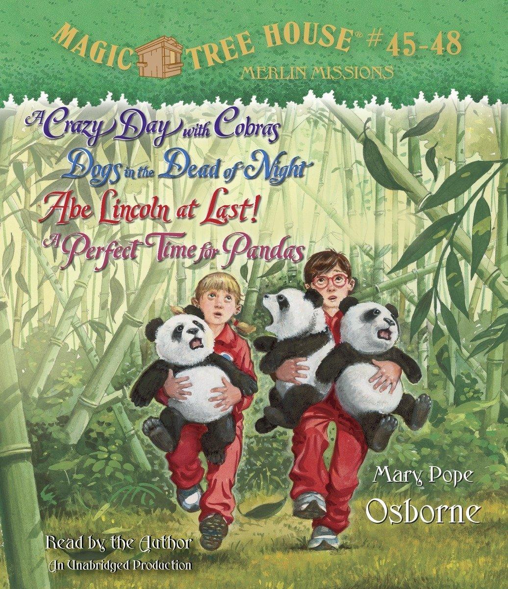 Magic Tree House Collection Books 45 48 Mary Pope Osborne