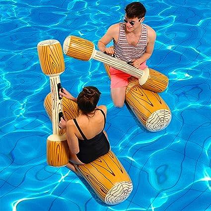 Amazon.com: Juego de flotador hinchable para piscina, juego ...